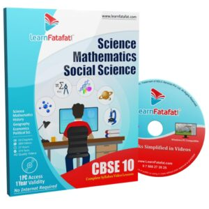 CBSE 10 SST Maths Science DVD