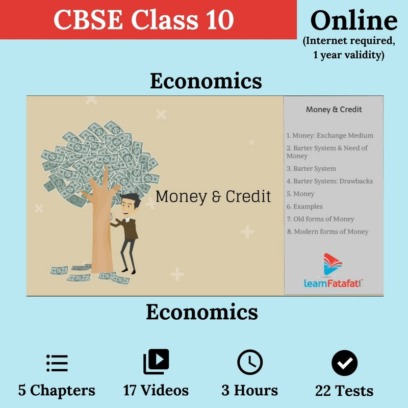 CBSE 10 - Economics ( Online)
