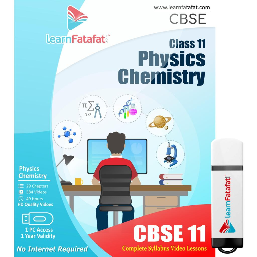 CBSE 11 - Physics,Chemistry (Pendrive)