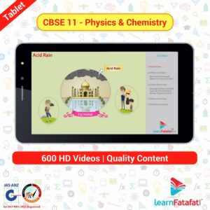 CBSE 11 Science tablet physics chamistry