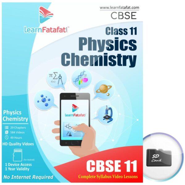 CBSE Class 11 Physics Chemistry