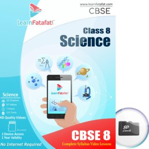 CBSE class 8 Science sd card course