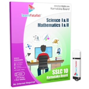 Karanataka sslc class 10 Maths Science pendrive course