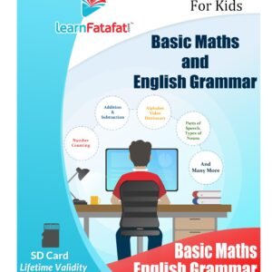 Basic Maths and Grammar SD Card