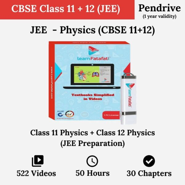 NEET/JEE CBSE 11, CBSE 12 Physics