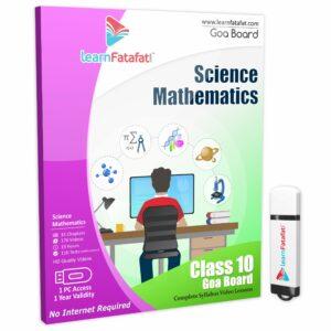 goa class 10 maths science pd