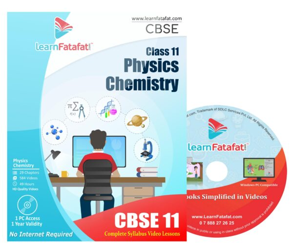 CBSE Class 11 Physics and Chemistry DVD