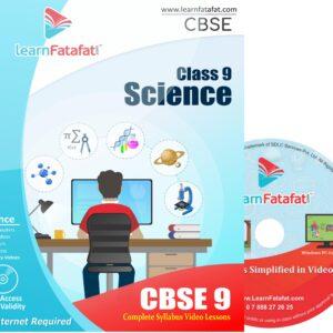 CBSE Class 9 Science DVD