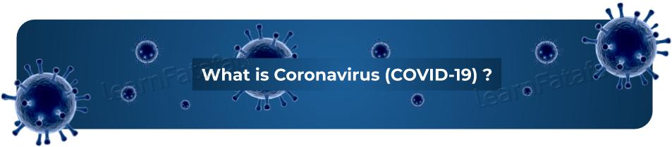 What is coronavirus | COVID 19 | Novel coronavirus