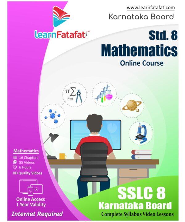 SSLC 8 Maths Online