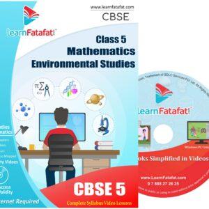 Class 5 Maths EVS DVD