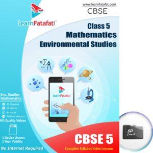 Class 5 Maths EVS SD Card